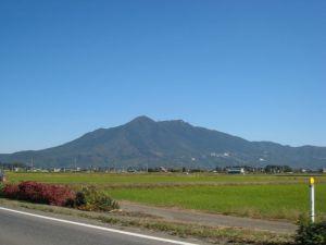 台風一過の快晴の筑波山