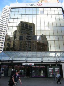 HSBC シドニーセントラル店