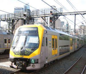 カンガルー日記;シドニーの電車