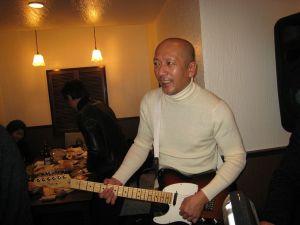 X'masパーティ;上野たか(Guitar) 三原順子バンドマスター