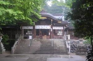 のむけはえぐすり  高麗神社のびっくり  3)高麗神社の本殿